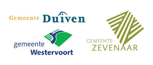 Logo samenwerking de Liemers (gemeente Duiven, Zevenaar en Westervoort)